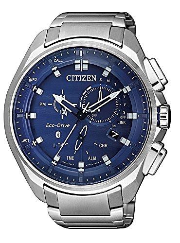 Citizen BZ1029-87L Reloj de hombre Eco-Drive W770 Con Bluetooth y cristal zafiro