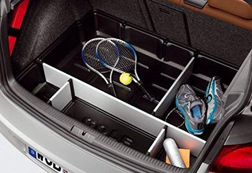 Volkswagen 5K0061162 – Organizador del espacio del maletero con elementos separadores y tapa
