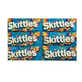 Skittles Tropical Flavored Candy   Skittles Tropical Fruit Flavor   Tropical Flavored Chewy Candy   2.17 oz Bags   Pack of 6