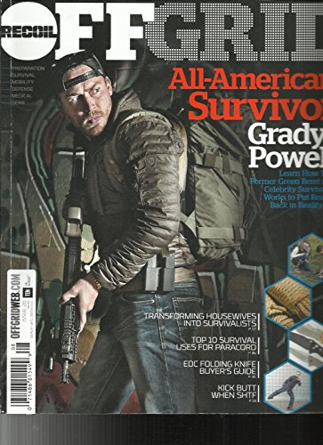RECOIL OFF GRID MAGAZINE, ISSUE, 2017 ISSUE, 20 ALL AMERICAN SURVIVOR