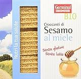 Germinal Bio Croccante di Sesamo Al Miele - 15 confezioni da 3 barrette - 1350 gr