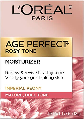 51VuyU1cmbL - Face Moisturizer by L'Oreal Paris Skin Care I Age Perfect Rosy Tone Moisturizer for Visibly Younger Looking Skin I Anti-Aging Day Cream I 1.7 oz. - Packaging May Vary