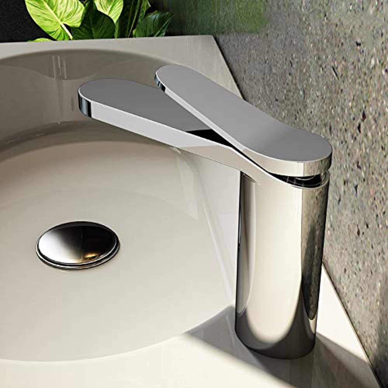 Home Improvement Building Materials Bathroom Copper Chrome Single Handle Mixing Basin Faucet European Hot and Cold Carbon Lead Porcelain Above Counter Basin Faucet