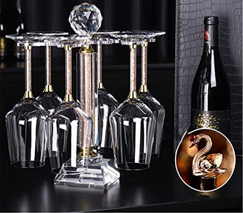 Copas De Vino De Cisne con Tapón De Vino, Copas De Vino Conjunto De 8 Copas De Vino De Vacaciones, Caja