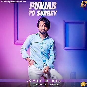 Punjab to Surrey