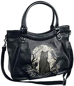 Festival, Gothic, Rockwear Handtasche mit folgenden Eigenschaften: Handtasche || Hoher Tragekomfort Material: Synthetisch Entdecke alle Top Marken von EMP!