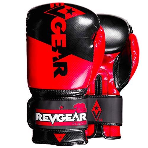 Revgear - Pinnacle Boxing Glove (Red/Black, 12 OZ)