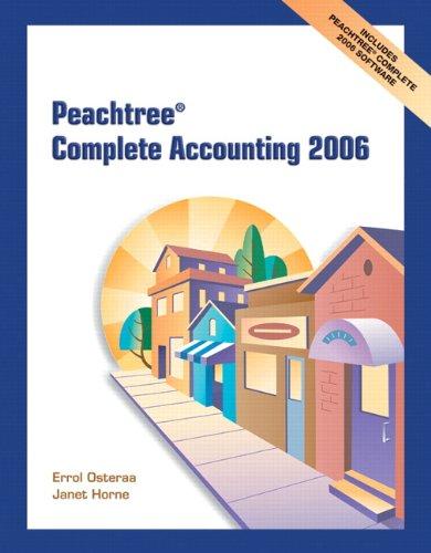 peachtree accounting program - 3