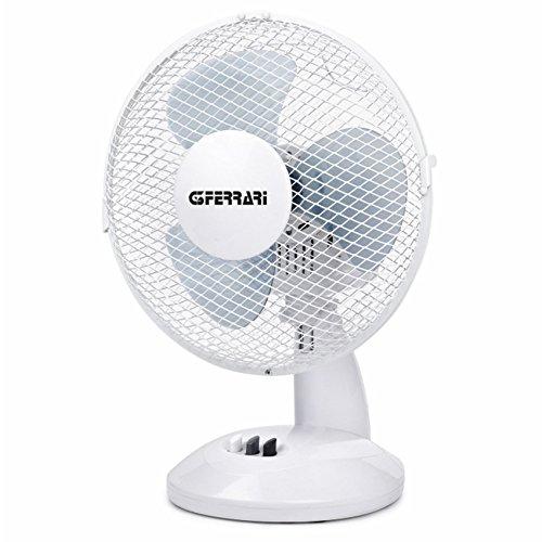 G3Ferrari Ostro Ventilatore da Tavolo, Bianco