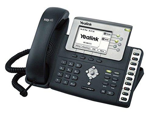 Yealink SIP-T28P Terminal con conexión por cable LCD Negro - Teléfono IP (LCD, 320 x 160 Pixeles, 1000 entradas, G.711a,G.722,G.723.1,G.726,G.729ab, IEEE 802.1p,IEEE 802.1Q,IEEE 802.1x,IEEE 802.3af, 3,1 W)