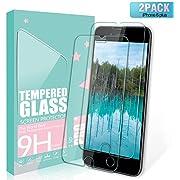 SGIN iPhone 8/7/6s/6 Plus Panzerglas Schutzfolie,[2 Stück] 9H Härte,Ultra-dünner HD Displayschutzfolie,Anti-Fingerabdruck [Anti-Kratzer], Anti-Bläschen, für Screen Protector iPhone 8/7/6s/6 Plus.