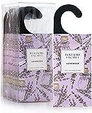 Rose Cottage Large 12 Packs Closet Deodorizer Freshener Closet air Freshener Home Scented Sachets Room Freshener Lavender Scents Air Freshener