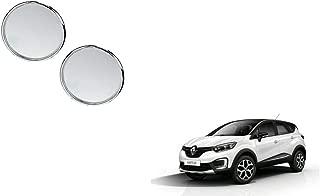 Autoladders Chrome Blind Spot Mirror Set of 2 for Renault Captur