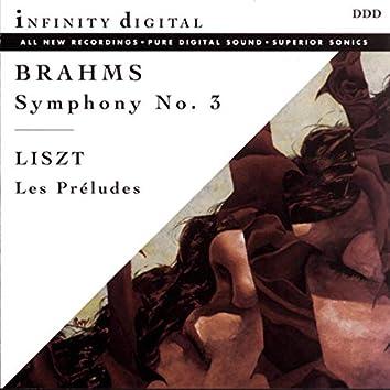 Brahms: Symphony No. 3, Op. 90 - Liszt: Les préludes, S. 97