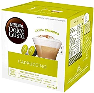 Nescafé Dolce Gusto Cappuccino - 48 capsules (Lot de 3X16)