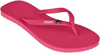 fipper Women's Rubber Glitter Thongs