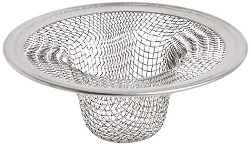 Danco Bathroom 88820 2-3/4-Inch Tub Mesh Strainer, Stainless Steel, 2-1/2-Inch Lavatory