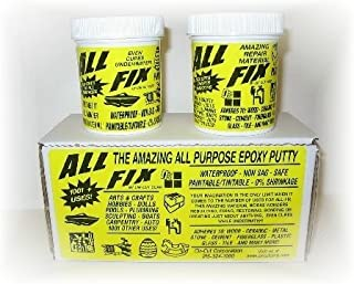 All-Fix 2 Part Epoxy Putty 3/4 Lb. Kit All Purpose 1001 Uses