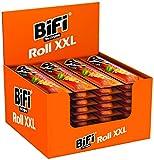 BiFi Roll XXL – Herzhafter, großer Salami Fleischsnack – Snack im Teigmantel – 24er Pack (24 x 75 g)