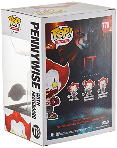 Pop. Vinyl: Movies: It: Chapter 2 - Pennywise W/ Skateboard 3