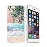 iPhone 6 / 6S, Ultra Slim Silicone Rubber Flexible Gel Case Cover - Pleasant Beach View