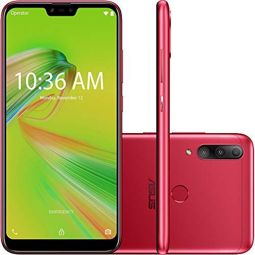 ASUS Zenfone Max Shot 4GB 64GB , Vermelho
