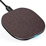 LUXSURE Wireless Charger Qi Ladestation Kabelloses Schnellladestation, Qi Ladestation für iPhone...