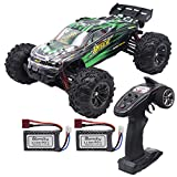 Blomiky 52KMH+ High Speed 2847 Brushless 1/16 Scale RC Truck for Kids and Adults Q903 Green