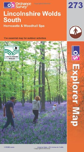 OS Explorer map 273 : Lincolnshire Wolds South