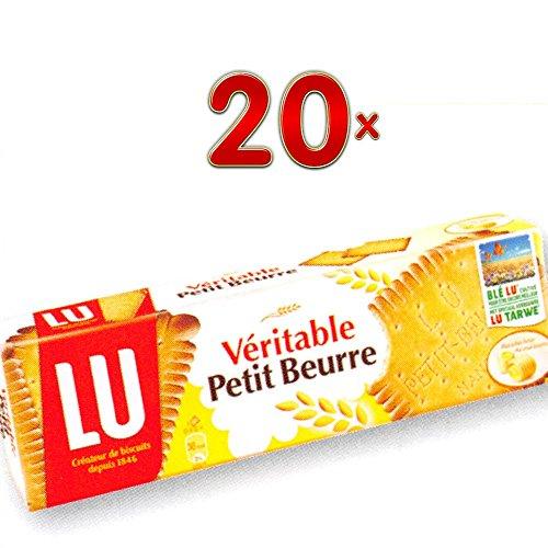 LU Veritable Petit Beurre 20 x 200g Packung (Butterkeks)