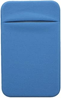 Kbinter Slim Credit Card Holder for Back of Cell Phone, Stretchy Ultra Lycra 3M Self Adhesive Phone Pocket Stick On Wallet...