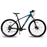 Hiland 29 Inch Mountain Bike for Men Adult Bicycle Aluminum Hydraulic Disc-Brake 16-Speed 17 Inch...
