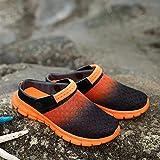 Mlcjva 2021 NUEVOS Hombres y Mujeres Sandalias de Verano Online Transpirable Playa Gruesa Chapas de natación Zapatos Planos Skippers XL 3646