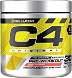 C4 Original Pre Workout Powder Cherry Limeade| Preworkout Energy Drink Supplement for Men & Women | 150mg Caffeine + Beta Alanine + Creatine Monohydrate | 30 Servings
