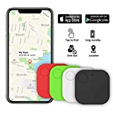 Kimfly Key Finder Anti-Lost Tracker, Schlüsselfinder mit Bluetooth Tracker Wallet Telefonschlüssel...