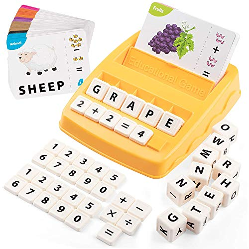 Matching Letter Spelling Game, Sight Word Games, Literacy Fun Game, Alphabet Reading, Words Spelling, Pre K, Kindergarten and Kids Ages...
