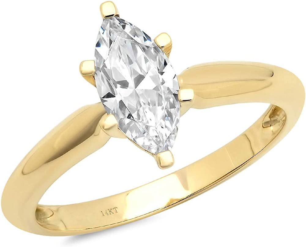 Clara Pucci 1.0 CT Marquise Ideal Birthstone VVS1 Sales results Some reservation No. Cut brilliant