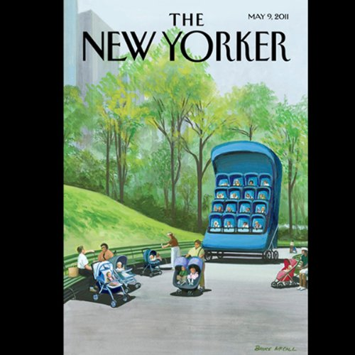 The New Yorker, May 9th 2011 (Jon Lee Anderson, Amanda Fortini, Adam Gopnik) cover art