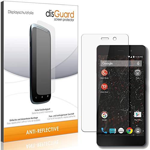 disGuard Displayschutzfolie für Silent Circle Blackphone 2 [2 Stück] Anti-Reflex, MATT, Entspiegelnd, Extrem Kratzfest, Anti-Fingerabdruck - Displayschutz, Schutzfolie, Panzerfolie