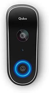 Qubo Smart WiFi Wireless Video Doorbell from Hero Group | Instant Visitor Video Call on Phone | Intruder Alarm System | 10...