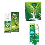 Relec Fuerte Spray Antimosquitos + Relec Roll On Picaduras de Insectos y Plantas + Relec Día y Noche Difusor y Recambio Antimosquito