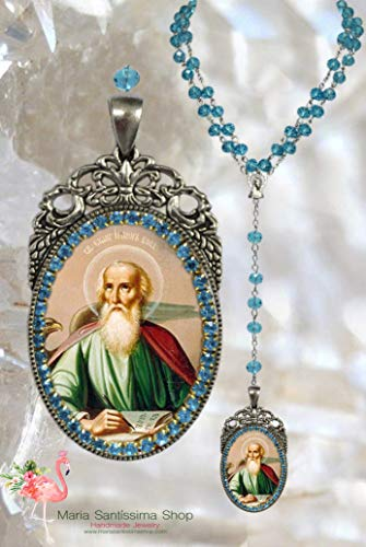 John the Apostle Rosary - Patron Saint of Love; Loyalty; Friendships; Authors; Booksellers; Burn-Victims; Poison-Victims; Art-Dealers