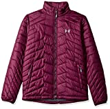 Under Armour Coldgear Reactor Veste isolée pour homme Large Rouge raisin (916)/acier.