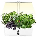 Sistema de Cultivo Hidropónico, SEAAN Kit de Cultivo Interior Smart Garden, Interruptor Sincronización Automático de 16H/Material de Aleación Aluminio, para Diversas Semillas Plantas