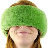 Wrap-a-Nap - Travel Pillow, Sleep Mask & Ear Muff in One. Sleep Anywhere on Airplanes, Cars, Camping, Dorm Rooms, in The Office or at Home. Ultra-Soft Neck Pillow & Reading Pillow. (Forrest (Green))