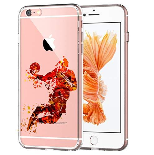 blitzversand Handyhülle Sport Art kompatibel für Samsung Galaxy J5 2017 Jump Basketball Schutz Hülle Case Bumper transparent M13