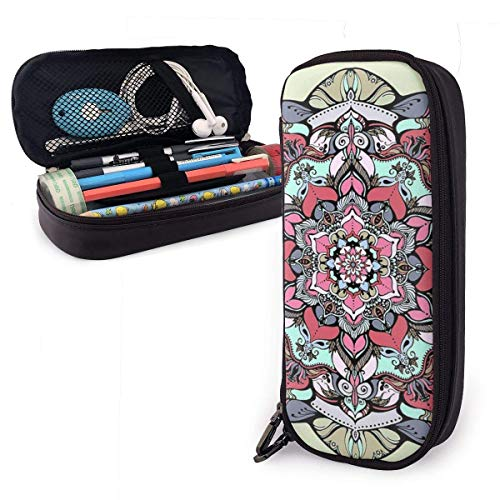 Bürobedarf & Schreibwaren Federmäppchen Flower Tattoo Pencil Case Holder Large Capacity Pencil Pouch Stationery Organizer with Zipper for School Office,Multifunction Cosmetic Makeup Bag