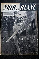 NOIR ET BLANC 270 * 26 avril 1950 * Renée JEANMAIRE - Michel SIMON - Au printemps à Paris les amoureux sont seuls au monde