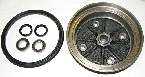 Kawasaki Mule 3000/3010 / 4000/4010 Front Brake Drum Kit (Drum, Seal, Bearings & Bearing Seals)