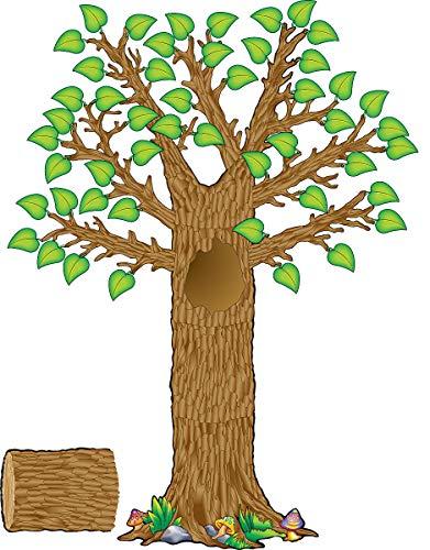 Teacher Created Resources Seasonal Tree Bulletin Board Display Set (4405), Multi Color